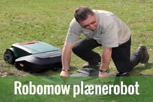 Salg og reparation af Robomow robotplæneklippere i Danmark